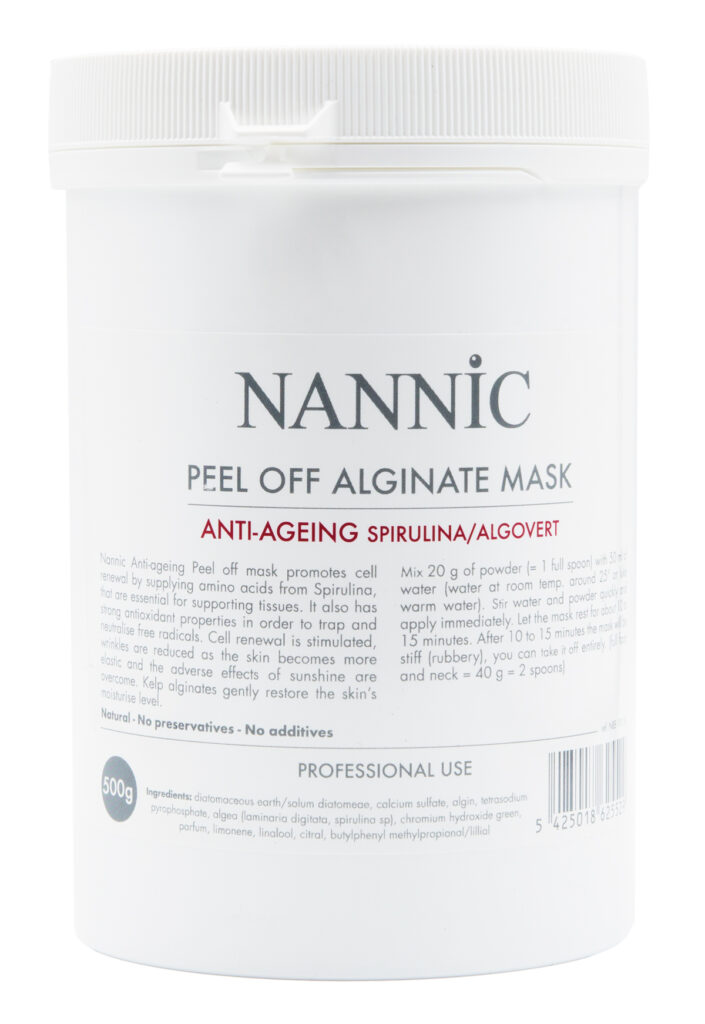 Alginate Mask Anti-Ageing