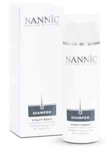 Nannic HSR Shampoo, Vitality Boost